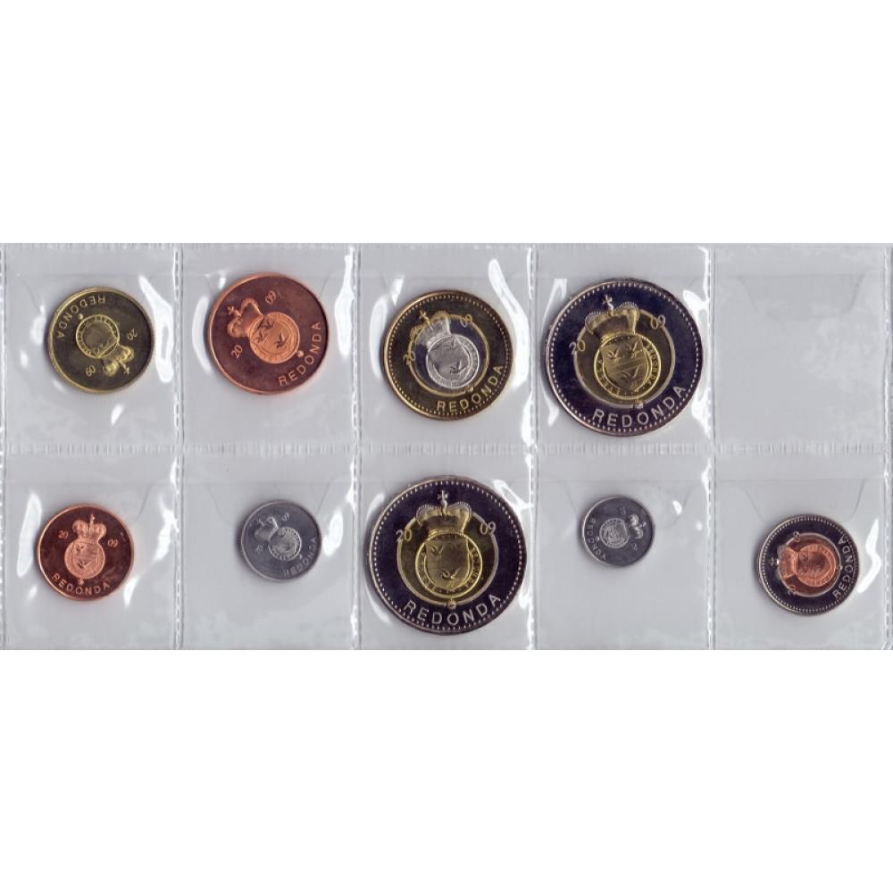 Набор монет. Редонда, 2009 год. (9 шт.)