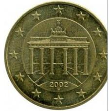 10 евроцентов 2002 Германия - 10 euro cent 2002 Germany, F