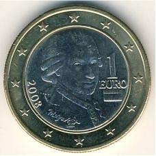 1 евро 2008 Австрия - 1 euro 2008 Austria
