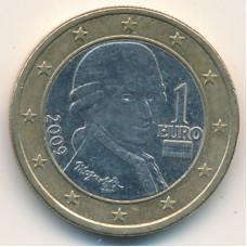1 евро 2009 Австрия - 1 euro 2009 Austria