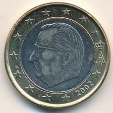 1 евро 2002 Бельгия - 1 euro 2002 Belgium