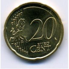 20 евроцентов 2007 Бельгия - 20 euro cent 2007 Belgium