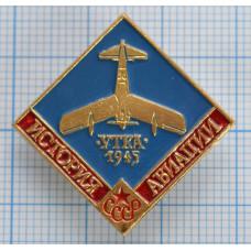 Значок - История авиации СССР. Утка 1945