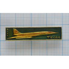 Значок - самолет ТУ-144