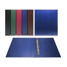 Альбом вертикальный для значков бумвинил, с листами на ткани формат Optima