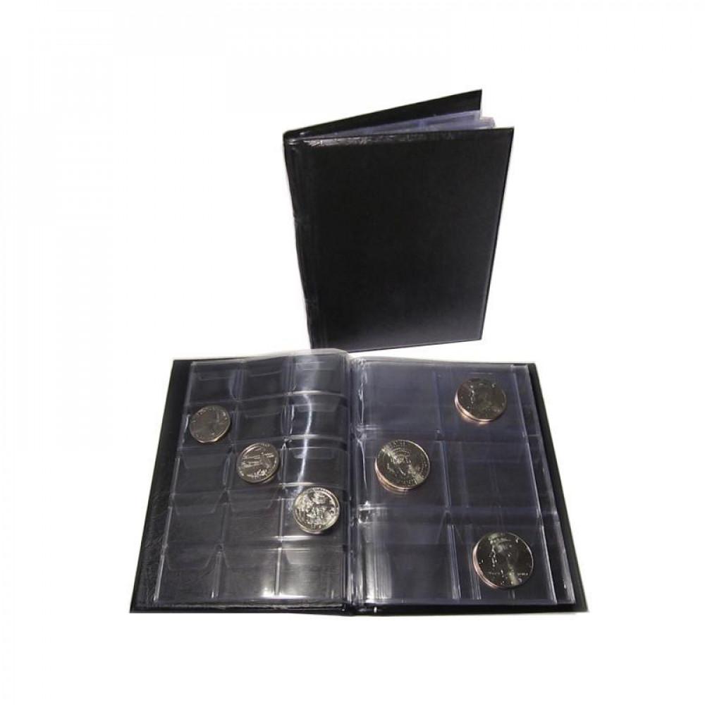 Монетник на 48 монет (листы с клапанами)
