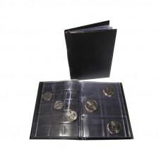 """Монетник """"Комби"""" на 84 монеты (листы с клапанами)"""