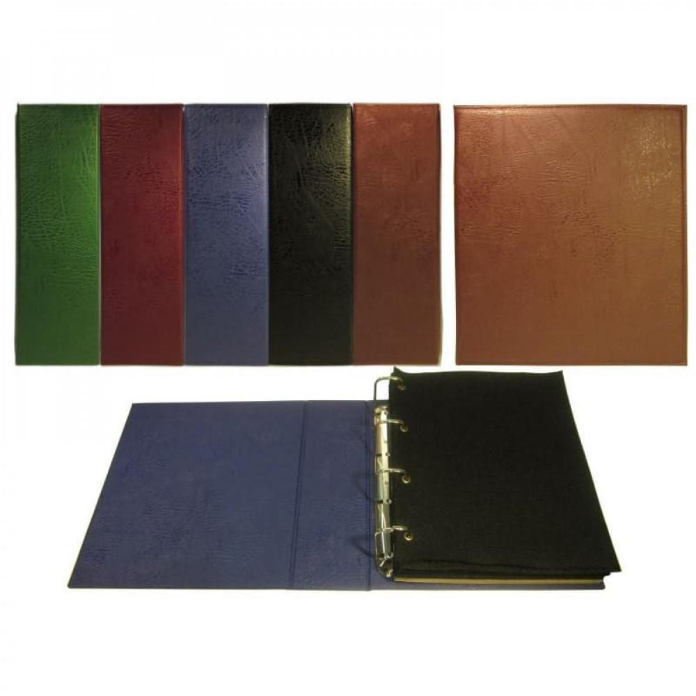 Альбом вертикальный для значков Классик Grand+, с листами на ткани