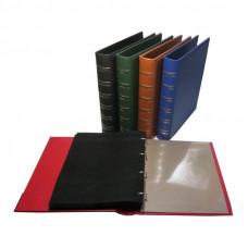 Альбом вертикальный для значков Элит-Grand, с листами на ткани