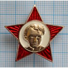 Значок Октябрятская звездочка, Белый фон