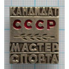Знак нагрудный - Кандидат в мастера спорта СССР. Тяжелый.
