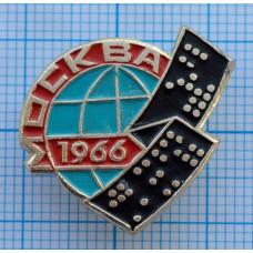 """Значок серии """"Город Москва"""", 1966"""