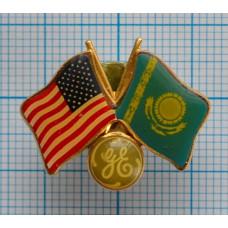 Значок - Флаги дружбы