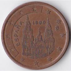 5 евроцентов 1999 Испания - 5 euro cents 1999 Spain