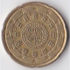 20 евроцентов 2002 Португалия - 20 euro cents 2002 Portugal
