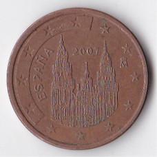 5 евроцентов 2007 Испания - 5 euro cent 2007 Spain
