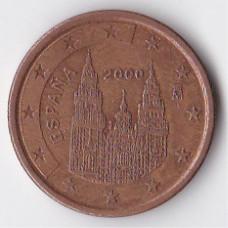 5 евроцентов 2000 Испания - 5 euro cent 2000 Spain