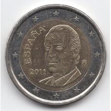 2 евро 2011 Испания - 2 euro 2011 Spain