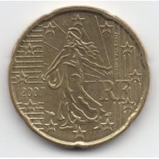 20 евроцентов 2007 Франция - 20 euro cents 2007 France