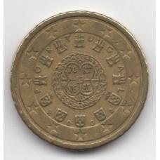 50 евроцентов 2002 Португалия - 50 euro cents 2002 Portugal