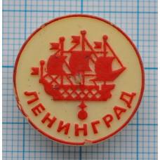 Значок - Корабль. Ленинград