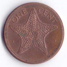 1 цент 1992 Багамские острова - 1 cent 1992 Bahamas, из оборота