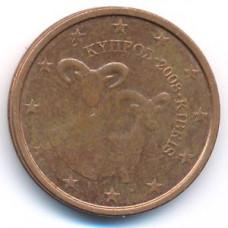 2 евроцента 2008 Кипр - 2 euro cents 2008 Cyprus, из оборота