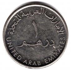 1 дирхам 2012 ОАЭ - 1 dirham 2012 United Arab Emirates, из оборота