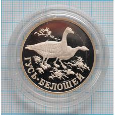 1 рубль. 1998 г. Гусь-белошей Proof