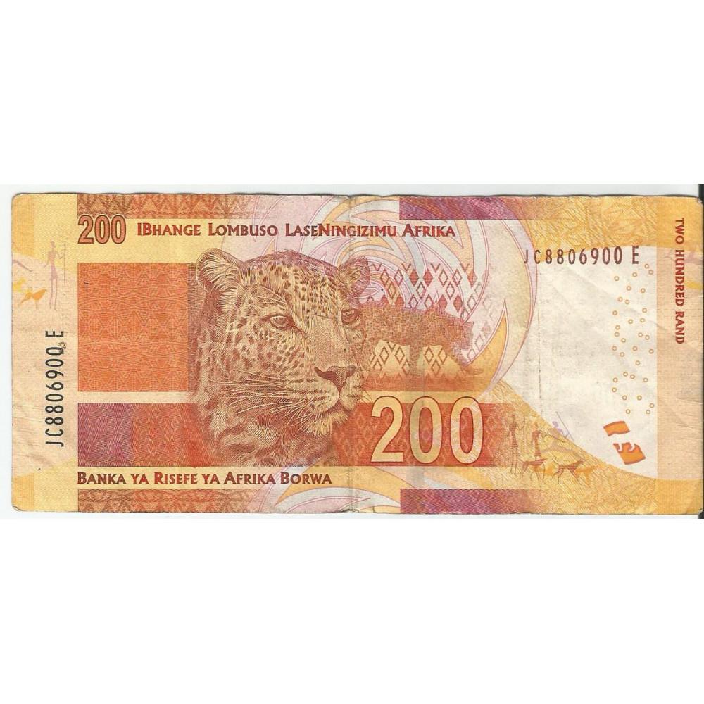 Банкнота 200 РАНД 2012 ЮАР. XF