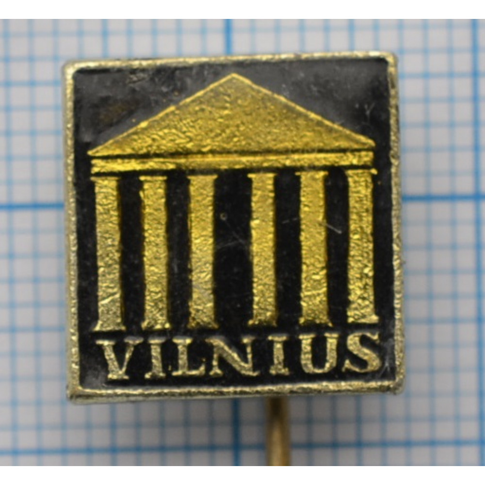 Значок Vilnius, г. Вильнюс, Литва