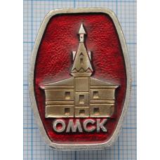Значок город Омск
