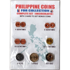 Набор монет, Филиппины 1995-2014