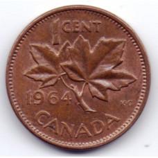 1 цент 1964 Канада - 1 cent 1964 Canada