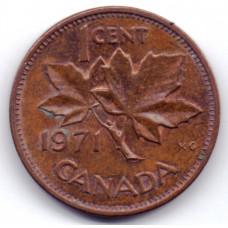 1 цент 1971 Канада - 1 cent 1971 Canada
