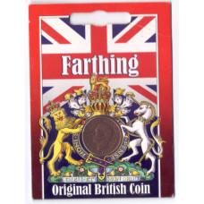 1 фартинг (farthing) 1938 Великобритания. в подарочном блистере