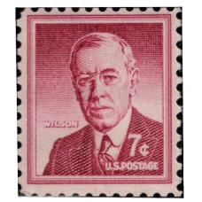1954 -1973. Почтовая марка США. Вопрос свободы. 7 центов