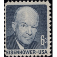 1970, Август. Почтовая марка США. Выдающиеся американцы - Дуайт Д. Эйзенхауэр. 6 центов