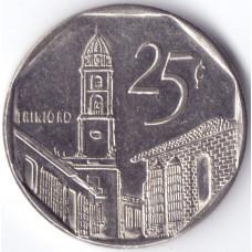 монета 25 сентаво 2003 Куба -  25 centavos 2003  Cuba