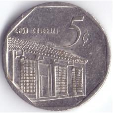 монета 5 сентаво 1999 Куба - 5 centavos 1999 Cuba