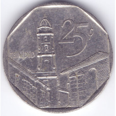 монета 25 сентаво 1994 Куба - 25 centavos 1994  Cuba
