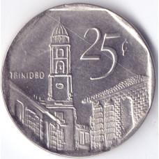 монета 25 сентаво 2008 Куба - 25 centavos 2008 Cuba