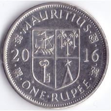 Монета 1 рупий 2016 Маврикий - 1 rupee 2016 Mauritius