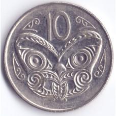 Монета 10 центов 1989 Новая Зеландия - 10 cents 1989 New Zealand