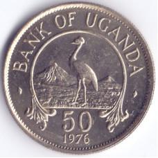 Монета 50 центов 1976 Уганда - 50 cents 1976 Uganda
