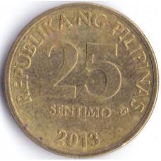 Монета 25 сентимо 2013 Филиппины - 25 sentimos 2013 Pilipinas