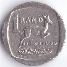 Монета 1 ранд 2003 ЮАР - 1 rand 2003 South Africa, из оборота