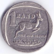 Монета 1 ранд 1997 ЮАР - 1 rand 1997 South Africa, из оборота