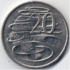 Монета 20 центов 1999 Австралия - 20 cents 1999 Australia