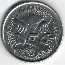5 центов 2012 Австралия - 5 cents 2012 Australia